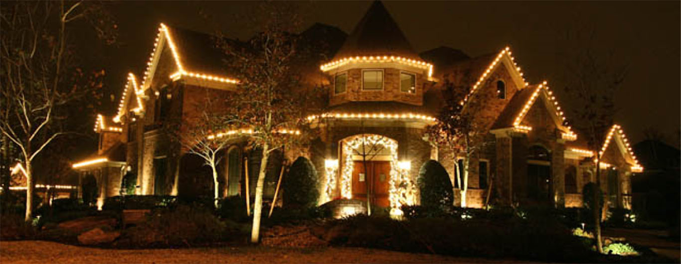YardBirds Christmas Lights and Holiday Lighting Design and Installation Services.